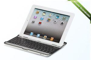 online aanbieding iPad toetsenbord met hoge korting 300x200 Aanbieding iPad 2, 3, 4 & Air toetsenbord en beschermcase, van € 29.95 voor € 19.99
