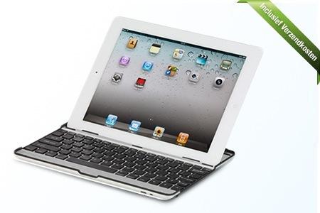 online aanbieding iPad toetsenbord met hoge korting Aanbieding iPad 2, 3, 4 & Air toetsenbord en beschermcase, van € 29.95 voor € 19.99