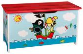 uitverkoop speelgoed sinterklaas speelgoed opbergkist Aanbieding Speelgoedkist Woezel en Pip piraten, van € 44.99 voor € 29.