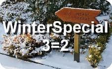 WinterSpecials Hotelspecials 2014 en 3=2 op hotelovernachtingen