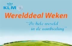 Werelddeal Weken KLM 2013