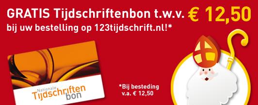 gratis tijdschriftenbon 123tijdschrift.nl