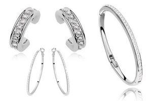 online aanbiedingen Swarovski armbanden en oorbellen hoge korting groupon 300x200 Aanbieding Swarovski Crystal Armband of oorbellen, 74% korting, van € 50.  voor € 12.98 (Cadeau Tip)