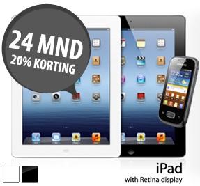 Gratis Apple iPad 4 en gratis Samsung Galaxy Smartphone