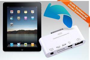 aanbieding usb connection kit iPad 300x200 Aanbieding iPad USB 5 in 1 Connection kit, van € 42.  voor € 14.  & Gratis verzending
