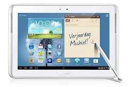gratis Samsung Galaxy Note 10.1 Tablet bij overstappen energie