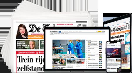 Telegraaf abonnementen met korting bestellen Aanbieding proefabonnement de Telegraaf, 10 weken, 61% korting, voor € 35.  & gratis DVD pakket 6 top films (Aflopend)