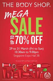 Mega Sale the Bodyshop