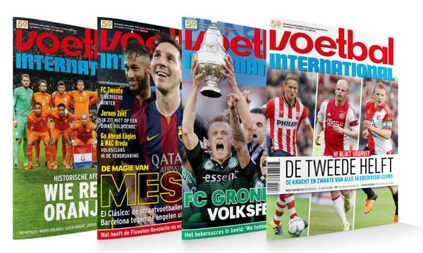 voetbal international abonnement Aanbieding Voetbal International, 46 nummers voor € 62,80 (nu met gratis VI DVD en VI Seizoensgids)