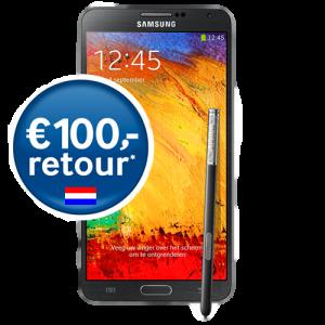 Gratis Samsung Galaxy Note 3 en 100 Euro cashback