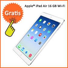 gratis iPad Air bij overstappen zorgverzekering 2014 United Consumers