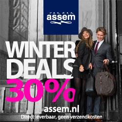 online Sale van den Assem 30% korting op alles en gratis verzending