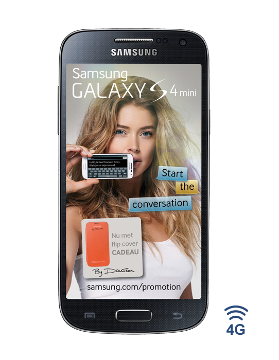 Gratis Galaxy Tab 3 en gratis Galaxy S4 Min i bij een Vodafone abonnement met 24 maanden korting
