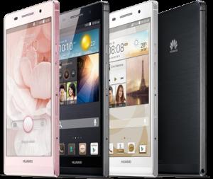 Bestel de gratis Huawei Ascend P6 en profiteer van 24 maanden lang slechts 20 Euro per maand aan abonnementskosten