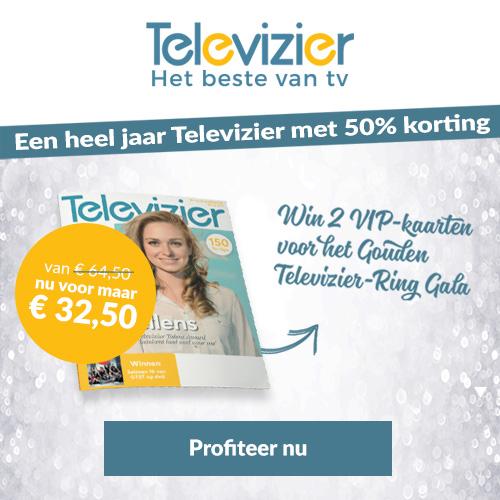 aanbieding Televizier abonnement met korting Aanbieding Televizier proefabonnement met 67% korting, 26 weken voor € 10.  & gratis mini abonnement (Aflopend)
