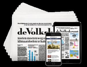 aanbieding Volkskrant 4 weken voor 4 euro stopt automatisch Aanbieding 4 weken de Volkskrant voor € 4.  (Stopt Automatisch)
