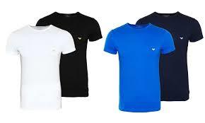 hoge korting Armani tshirts online uitverkoop