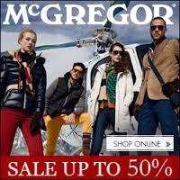 Online Winter Sale McGregor 2014