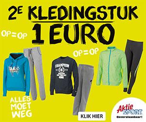 online uitverkoop Aktiesport 2014 tweede artikel € 1.-