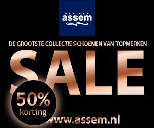 online van den Assem Sale 2014 50 procent korting op merk schoenen en merk tassen