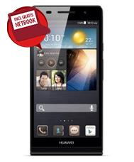 30 euro voor de Huawei Ascend P6 en een 10.1 inch Netbook bij een Vodafone abonnement met korting