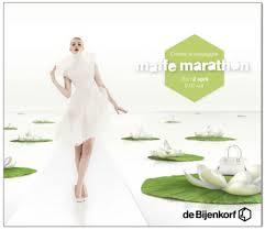 online folder boekjes Maffe Marathon de Bijenkorf 2014