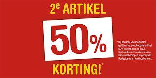 online sale Schoenenreus tweede artikel 50 procent korting kleding en schoenen bovenop de uitverkoop