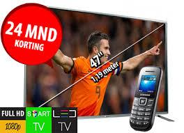 gratis full hd tvs bij gsm abonnement met korting Full HD tvs bij verschillende gsm abonnementen met korting