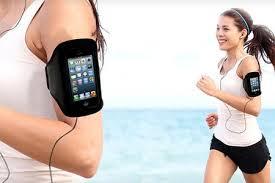 online aanbieding Smartphone hardloopband met hoge korting en gratis verzending Groupon