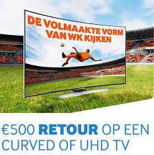 Coolblue WK tv actie hoge korting full hd 3d smart tv's en gratis verzending