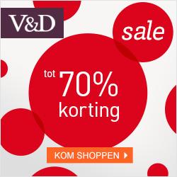 Summer Sale VD 2014 Online uitverkoop V&D, tot 70% korting