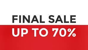 Online uitverkoop heren merkkleding en merk jeans tijdens Final Sale Score 2014