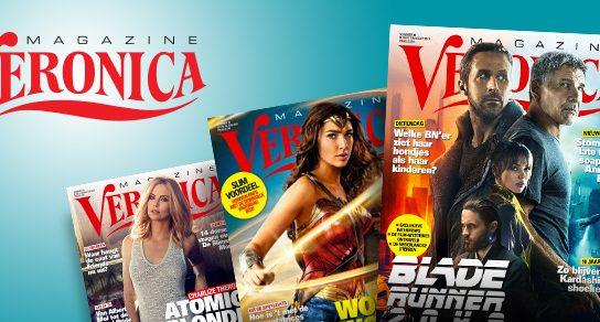aanbiedingen Veronica Magazine abonnementen met hoge korting 544x292 Aanbieding Veronica Magazine Abonnement, 53% korting & 2 gratis bioscoop kaartjes, 13 weken van € 21.45 voor € 10.