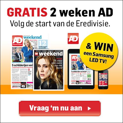 gratis 2 weken AD Gratis 2 Weken het Algemeen Dagblad (Stopt Automatisch)