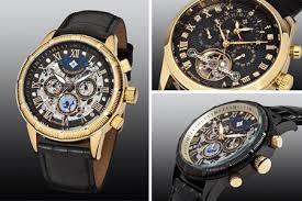 hoge korting design merk horloges Theorema Monaco horloge