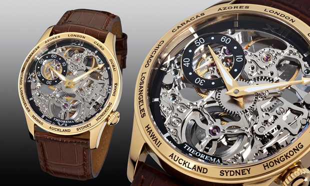 online aanbiedingen Theorema merk horloges met hoge korting