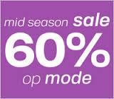 online uitverkoop merkkleding alles 60 procent korting Mid Season Sale Neckermann 2014