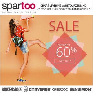 online uitverkoop Spartoo merk kleding en merk schoenen 300x300 Online uitverkoop Spartoo, tot 60% korting op merk kleding en schoenen
