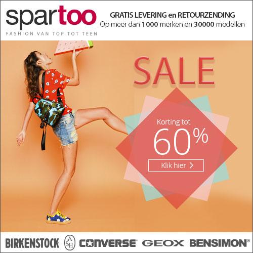 online Sale Spartoo uitverkoop merk kleding en merk schoenen